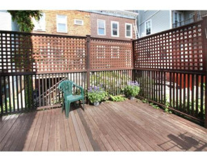 South Boston Home Outdoor Deck